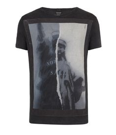 Mens Graphic T-Shirts | Statue Cut Collar Crew