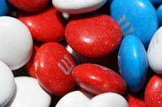 Red, White, Blue & M by Carbon Images, via Flickr