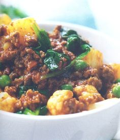 Quorn Mince and Veggie Curry