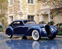 1938 Delage 120 Aerodynamic Coupe - My old classic car collection Auto Retro, Retro Cars, Bugatti, Art Deco Car, Automobile, Classy Cars, Old Classic Cars, Classic Motors, Cabriolet