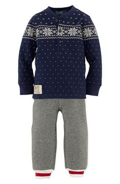 Ralph Lauren Henley & Knit Pants (Baby Boys) available at #Nordstrom