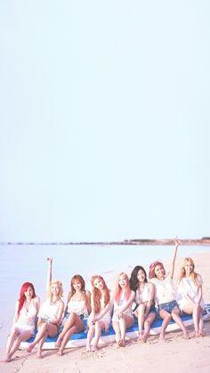 Girls' Generation SNSD Party OT8 Lockscreen Phone Wallpaper