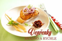 vepřenky Ground Meat, Learn To Cook, Menu, Cooking, Breakfast, Food, Daughter, Fine Dining, Ground Beef