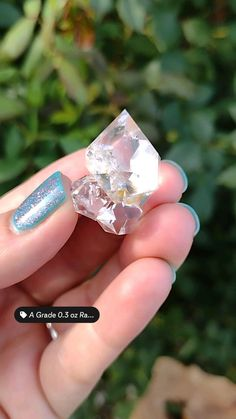 Diamond Quartz, Herkimer Diamond, Quartz Crystal, Crystal Healing, Minerals And Gemstones, Crystals Minerals, Stones And Crystals, Diamond Mines, Feel Unique