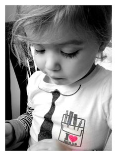If I ever have a daughter she is SOOOO going to rock this shirt... <3 Geek Chic like her mommy