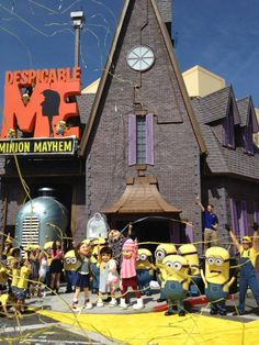 Despicable Me Minion Mayhem Ride at Universal Orlando!!!!