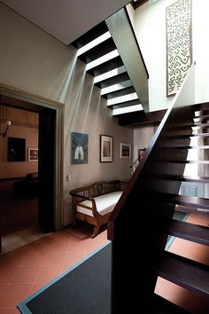 This historic villa located in Italian city of Mantova was completely renovated by Benedini Partners. Beautiful!