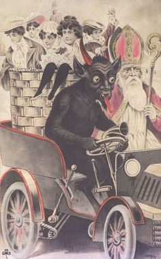 21 Vintage Postcards Of Krampus That Will Haunt Your Dreams
