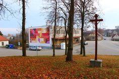 The municipal library Chrastany Library Week, Graffiti, Street Art, Sidewalk, Czech Republic, Motto, Wall, Design, Instagram