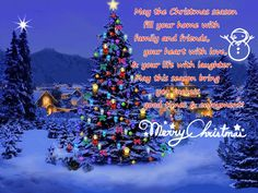 Christmas Greetings Messages Cards For Facebook Wishes