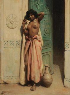 Adrien Henri Tanoux - Beauté du harem (1913)