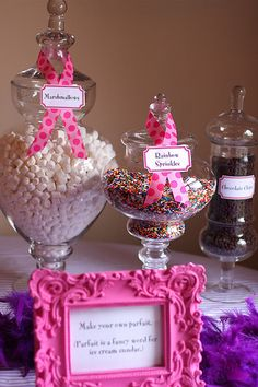 I definitely want to have some CUTE ideas like this going on if/when we have a house-warming party!!