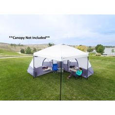 Ozark Trail 8-Person Tube Tent - Walmart.com - Walmart.com Ozark Tent, How To Store Carrots, Canopy Tent, Camping Canopy, Tents, Tent Storage, Tent Weights, Family Camping, Camping Stuff