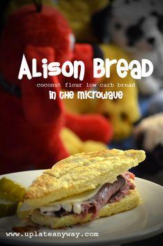 Low Carb Alison Bread using coconut flour