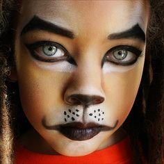 Simple looking lion face paint. The Lion of Judah by ~melaniumom on deviantART Lion King Play, Lion King Jr, Lion Of Judah, Scar Rey Leon, Lion Makeup, Monkey Makeup, Animal Makeup, Eye Makeup, Lion King Costume