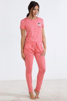 women'secret | Products | Long Mickey cotton jumpsuit
