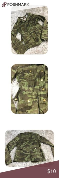 Camo jacket Love this jacket! I just have another that's super similar! Mossimo Supply Co Jackets & Coats Utility Jackets