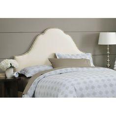 $254 - Wayfair   Skyline Furniture Plain High Arch Upholstered Headboard