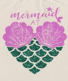 Items similar to Mermaid at Heart Shirt mermaid shirt sea shell mermaid mermaid vibes little mermaid girls mermaid shirt girls shirt mermaid pa on Etsy - Mermaid at Heart Shirt glitter mermaid shirt sea shell mermaid mermaid life by on Etsy - Mermaid Room, Mermaid Mermaid, Mermaid Quotes, Design Mandala, Mermaid Crafts, Mermaid Shirt, Heart Shirt, Vinyl Shirts, Silhouette Cameo Projects
