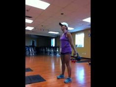 Double kettlebell swing squats: not for the beginner or the weak in the core! #kettlebells #swing #workout #havefun