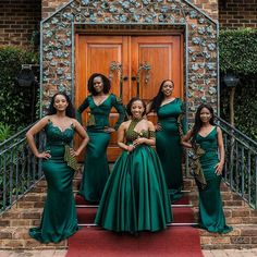 Shweshwe Dresses Fashion In 2020 designed Shweshwe Prints have overwhelmed the African Fashion scene in South Africa. African Bridesmaid Dresses, African Wedding Attire, African Maxi Dresses, Shweshwe Dresses, Latest African Fashion Dresses, African Attire, Printed Bridesmaid Dresses, African Wear, Lace Dresses