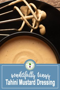 This plant-based Tahini Mustard Dressing is delicious and simple! Tahini and mustard come together to create the perfect quick and easy healthy dressing that is oil-free and gluten-free. Raw Vegetables, Roasted Vegetables, Sweet Potato Wedges, Mushroom And Onions, Mustard Dressing, Dressing Recipe, Tahini, Nutritious Meals, Spreads