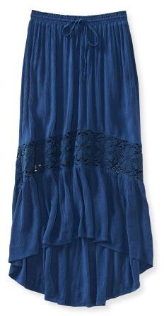 #Aeropostale              #Skirt                    #Horizontal #Crochet #Maxi #Skirt                   Horizontal Crochet Maxi Skirt                                                 http://www.seapai.com/product.aspx?PID=380999