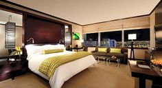 Deluxe guest suites offer kitchenettes and luxurious baths
