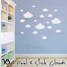 Image result for boys nursery clouds