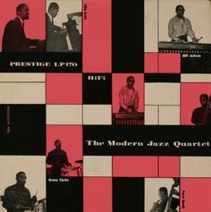 The Modern Jazz Quartet  vinyl record cover