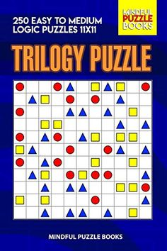 Trilogy Puzzle: 250 Easy to Medium Logic Puzzles - Mindful Puzzle Books Third Grade Science, Physics Classroom, Logic Puzzles, Puzzle Books, Developmental Psychology, Materials Science, Classroom Displays, Little Pigs, Science Projects