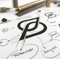 Logo design inspiration Best Logo Design, E Design, Icon Design, Branding Design, Ideas Para Logos, Logo Ideas, Cool Business Cards, Business Card Logo, Share Logo