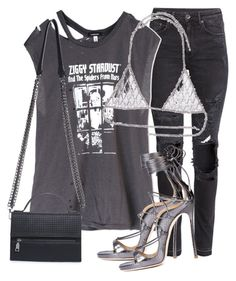 """""""Untitled #3579"""" by xirix ❤ liked on Polyvore featuring H&M, R13 and Vanessa Mooney"""