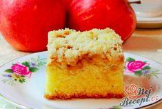 Hrnkový koláč s jablky a drobenkou | NejRecept.cz