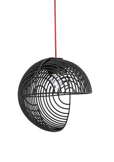 A Pendant Lamp Inspired by Op Art by Luis Arrivillaga