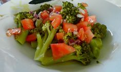 Brócoli a la Vinagreta