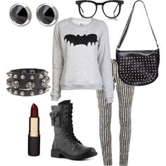 First Polyvore outfit to make!