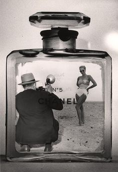 Chanel No 5. Photo by Weegee, 1959