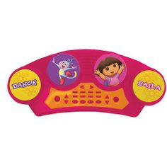 Dora the Explorer Electronic Drum Pad by First Act. $29.29. Recommended Age: 3 years and up. Take your beats on an adventure! This Dora the Explorer Electronic Drum Pad is rock ready, with 4 playable drum pads, 8 rhythms, 4 drum sounds (cymbal, snare 1, snare 2, bass). Also features adjustable tempo and volume control, stop and reset buttons and on/off switch. Includes a pair of drumsticks. 4 AA batteries required (not included). Ages 3 ? Act is a lifestyle mu...