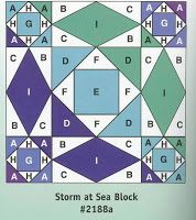 Quilts and Boxes: Storm at Sea