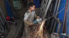 Iran. Boy working. by Nima Moinpour, via Flickr