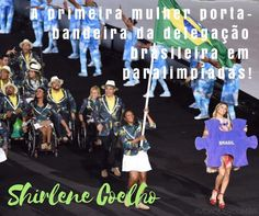 Os Jogos Paralímpicos Rio 2016 começam logo mais às 18h15 e prometem grandes emoções. Nesta edição o Brasil terá a chance de conquistar sua melhor posição em quadros de medalhas na história do evento e conta com grandes mulheres para isso.  Voltaremos a ver mulheres fazendo história no esporte! A começar pela abertura com a campeã mundial e paralímpica do atletismo Shirlene Coelho na liderança do Time Brasil carregando a bandeira do país depois de eleita para o posto por meio de eleição…