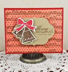 Christmas card by Dawn McVey for Papertrey Ink (September 2011).