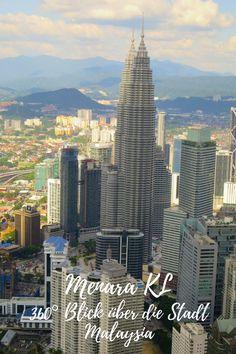 Menara KL- 360° Blick über die Stadt, Kuala Lumpur, Malaysia George Town, Borneo, Kuala Lumpur, Taiwan, Penang, Vietnam, Willis Tower, San Francisco Skyline, New York Skyline