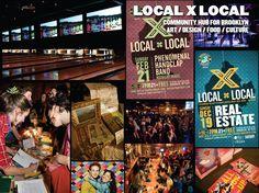 LOCAL X LOCAL: COMMUNITY HUB FOR BROOKLYN :: #ART > #DESIGN > #FOOD > #CULTURE via @Learned Evolution > #BrooklynBowl & @Brooklyn Brewery