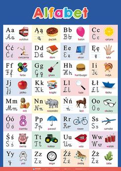 Polish Alphabet, Learn Polish, French Alphabet, Learn French, Montessori, Homeschool, Crafts For Kids, Language, Letters