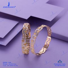 Plain Gold Bangles jewellery for Women by jewelegance. ✔ Certified Hallmark Premium Gold Jewellery At Best Price Gold Chain Design, Gold Bangles Design, Gold Jewellery Design, Antique Jewellery Designs, Fancy Jewellery, Coin Jewelry, Plain Gold Bangles, Gold Earrings For Women, Bridal Jewelry Vintage