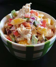 Paleo Chicken Salad   paleocupboard.com