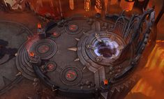 Heroes of the Storm - Diablo 3 Maps, The Butcher, and More!, HeroStorm Episode 1 - News - Diablo Fans Game Environment, Environment Concept, Environment Design, Background Tile, Game Background, Prop Design, Game Design, Hand Painted Textures, Game Props