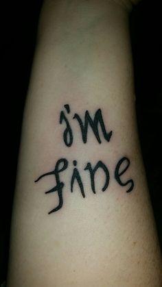 I'm fine / save me